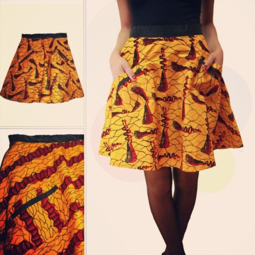 Time changed guys. I can smell spring. Check out these flare skirts. Perfect for your spring wardrobe. www.emuafashions.com #skirts #spring #African #tribal #ankara #fashion #fabric #flare #prints