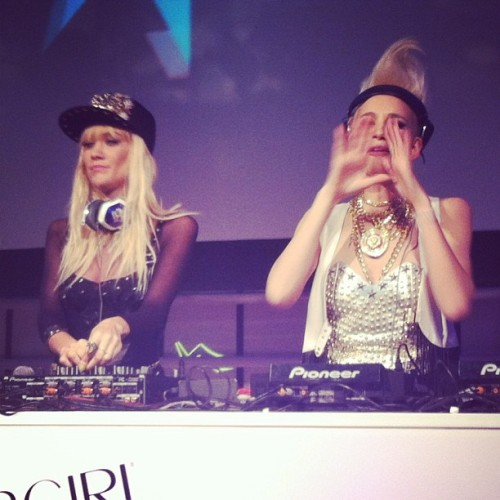 Nervo @ CoverGirl tonight. Dance, people!
