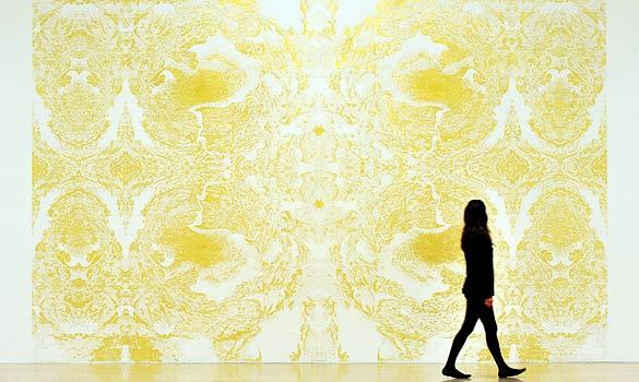 Richard Wright, Untitled, 2009 (gold leaf fresco) +