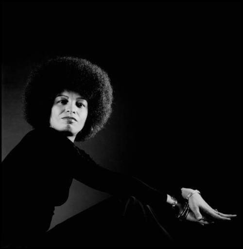 Brilliant scholar, activist and author Angela Davis, photographed in 1973 by the legendary photographer Philippe Halsman. Filmmaker Shola Lynch Free Angela has just released an AMAZING documentary about the iconic Ms. Davis. Photo: Philippe Halsman/Magnum Photos.