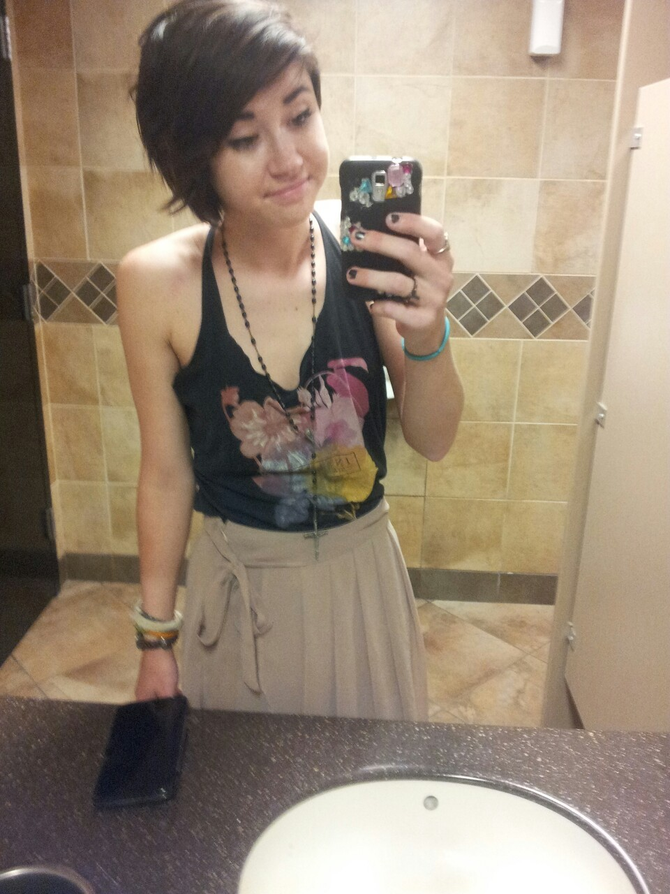 anthony told me i looked like kreayshawn today that is the best compliment i have ever received ok i am so happy