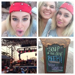 So much fun.. I'm gonna miss this awesomeness @allieevanaxo #cousin #sunfest #gavindegraw