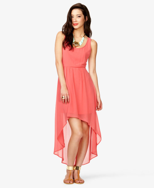 trendsilove:  High-Low Dress    By: FOREVER 21