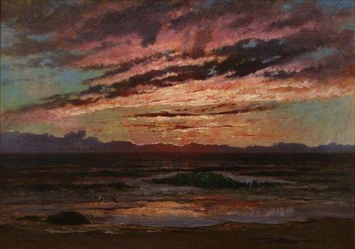 Frederick Arthur Bridgman    Brittany Sunset, 1873