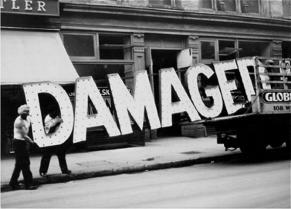 mchl:  Damaged By Walker Evans