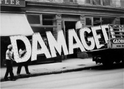 betype:  Damaged By Walker Evans