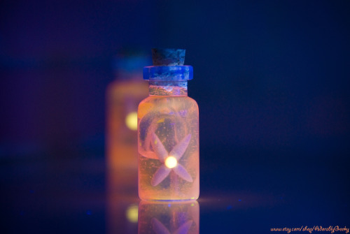 *Legend of Zelda Inspired Bottles* Enchanted Flame Fairy Bottle