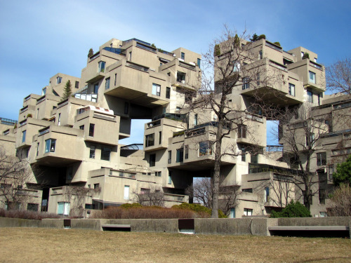 Habitat 67 is a model community and housing complex in Montreal, Canada