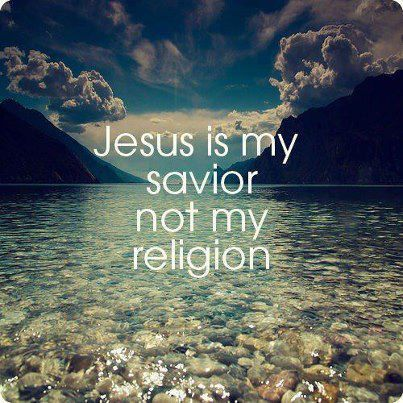 "love-matic:  May 19th, 2013 ""Jesus vs. Religion""I don't have a religion. I follow the teachings of Jesus Christ. When I say that to people that tell me they don't agree with organized religion, they don't understand what this means. They don't understand that there is a huge difference between having a relationship with God through Jesus and simply having a religion.When you have a religion, you have a god that is not happy with you. You have to appease him/her/it through various means. You have to pray at a certain time and place. You have to read and write a certain language. You may be required to make a certain type of sacrifice. You may have to withdraw yourself from the rest of the world and be among the other ""holy"" people. In religion, if you successfully and consistently maintain all the required practices, you are better than others.When you have Jesus, there's nothing you can do to gain any more or less of God's favor. You are already loved. You have His grace despite your shortcomings. You have his grace no matter who you are culturally or in terms of class. You can worship in your native tongue and dress at any given time and place. When you have Jesus, you humble yourself and accept that there is nothing divine or holy about you. You are not better and cannot be better than anyone else. Just because you sin differently than the next person doesn't make you more or less spiritual. ALL are called to repent. Jesus was is not a fan of hypocrisy.Luke 11:42 - ""Woe to you Pharisees, because you give God a tenth of your mint, rue and all other kinds of garden herbs, but you neglect justice and the love of God.  You should have practiced the latter, without leaving the former undone.""  When you have Jesus, you are called to go out into the world instead of running from it. He spent his time ministering to the poor, destitute, homeless, and sick. He rebuked the rich. Jesus rebuked those that used their faith in God as a badge of honor.Matthew 21:12 - Jesus entered the temple courts and drove out all who were buying and selling there. He overturned the tables of the money changers and the benches of those selling doves.As anyone can see, Jesus didn't just get angry. He was pissed off. If Jesus was to return today and see all this goofy television evangelism, He would do the same thing to them. God is not a business. God's house is not for commerce. Having the love of God is NOT having a religion, as evidenced by Jesus' reaction to those that would treat it as such.All these merchants out there that sell holy relics of any sort have a religion. Maybe not all, but televangelists have a religion. Snooty people that turn up thier noses to others have a religion. Any one that is using or selling any tools that can somehow make you closer to God has a religion. As for me, as for Christians in general, we have Jesus."