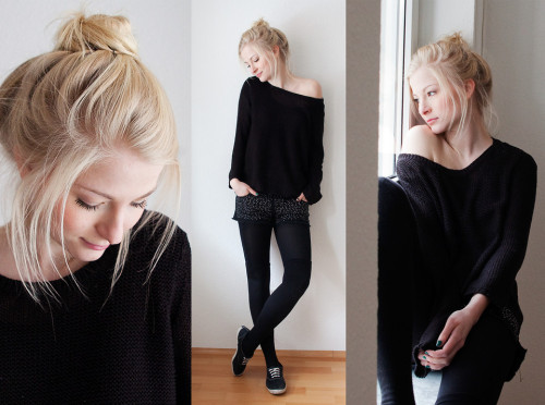 lookbookdotnu:  The black sheep (by Joana Gröblinghoff)