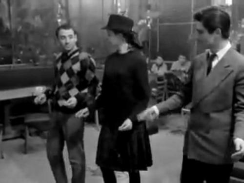 Band of Outsiders (1964) - April 22  Le narrateur: We now might open a parenthesis on Odile's, Franz's and Arthur's feelings… but it's all pretty clear. So we close our parenthesis and let the images speak.
