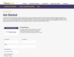 athenahealth :: Marketplace microsite athenahealth is out to create a healthcare information backbone. We created this site to showcase the products that can plug in to it. See the Site