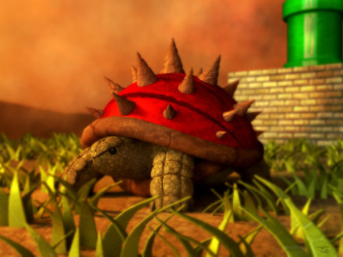suppermariobroth:  Spiny by *BalamTzibtah