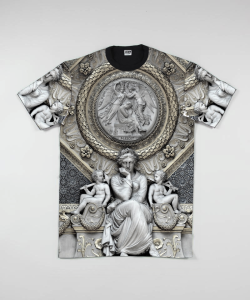 zombclothing:  ///Zomb. Premium Statue Tee 'MARCH DROP'