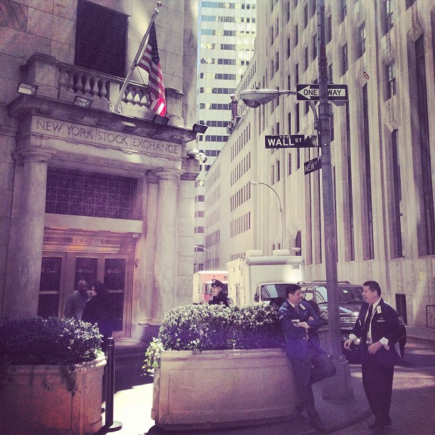 vinnychasenyc:  On Wall Street wit it #VCHASE #Financial