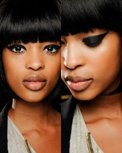 modelsofcolor:  Make-up look for Anna Sui F/W 2013   For her eyes…