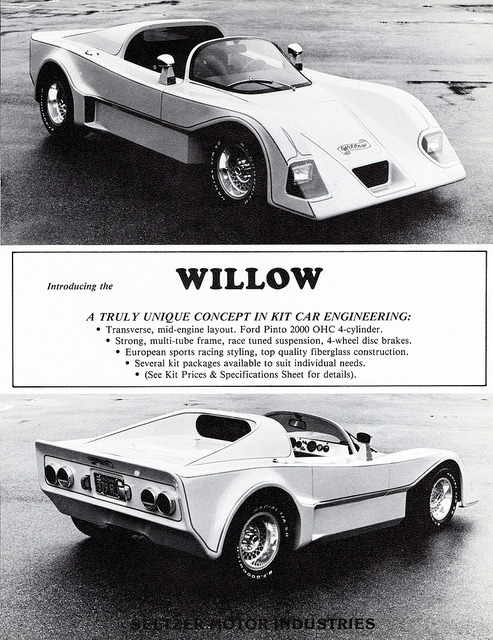 1980 Willow Sports Car Kit by aldenjewell on Flickr.1980 Willow Sports Car Kit