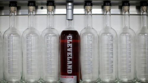 npr:  With bourbon sales growing fast, small distillers are looking for ways to get their product to market faster. One Cleveland company has come up with a way to shrink the aging process from years to just days, while also cashing in on the craze for all things local. How A Distillery Ages Bourbon In Days, Not Years : The Salt  Photo: Courtesy of David Kidd