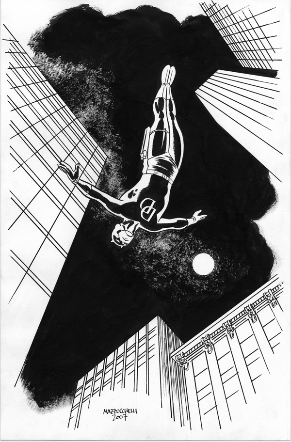 comicblah:  Daredevil by David Mazzucchelli