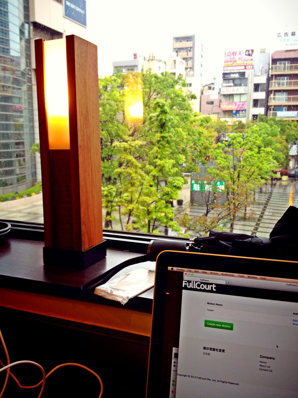 Today's office, this one's nice. at Starbucks Coffee 錦糸町テルミナ2店 – View on Path.