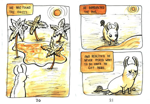Llamouse In The Imaginary Desert Page 20-21