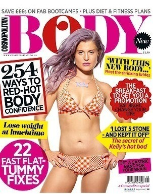 Kelly Osbourne in a bikini with a bikini body?!? Yeah. You better believe it. Check out Kelly on the cover of the latest issue of Cosmopolitan Body.