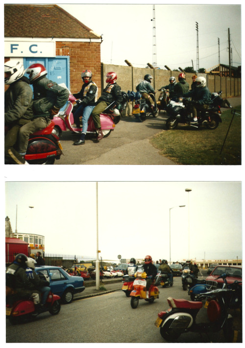 Margate FC, home to Scooterists in 1989.