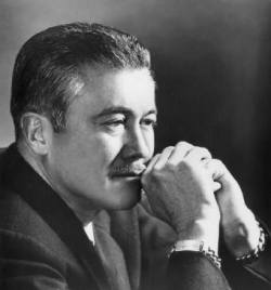 Literary Birthday - 12 May Happy Birthday, Leslie Charteris, born 12 May 1907, died 15 April 1993 Leslie Charteris: On Writing Who knows where an idea comes from? The Saint was just originally a character who came to life in my head not so long after I started writing, but he was not the first character I thought of. He was, as a matter of fact, the fifth. I went on and created two or three other characters, each of them in an individual book. And then I suppose I got lazy, or I got the idea that it was better to continue and build up one character than to spread yourself around among a dozen. I looked back over the characters I had created so far and picked the Saint, liked him the best, and decided to go on with him. I have never been able to see why a fictional character should not grow up, mature, and develop, the same as anyone else. The same, if you like, as his biographer. The only adequate reason is that so far as I know no other fictional character in modern times has survived a sufficient number of years for these changes to be clearly observable. I must confess that a lot of my own selfish pleasure in the Saint has been in watching him grow up. Ever since I can remember, I have been feebly protesting against the criticism most commonly levelled at the Saint stories, which is that my plots are farfetched and implausible. It has done me little good to insist that in truth I have a rather poor imagination, and that therefore I find it much easier to steal plots from the newspapers than to dream them up. Obviously, I give them some artistic distortions and trimmings; but far more often than not the hard core of the story is something that intrigues me in real life. I have even given my sources, sometimes, which is the kind of excuse that I don't think a writer really ought to make… I solemnly assert that even when I do write a story out of pure imagination, my mind works with such a faultless sense of realism that life itself will sometimes be constrained to make my story come true. Everything I write is designed to be milked to the last drop of revenue. Charteris was a half-Chinese, half-English author of mystery fiction, as well as a screenwriter. He was best known for his books chronicling the adventures of Simon Templar, alias The Saint. Source for Image by Amanda Patterson for Writers Write