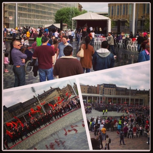 #pentecostpraise #bradford #citypark @holytrinityidle.well done robin and all the team.