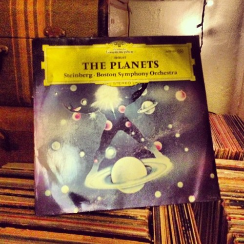 "Now Playing :: The Planets :: ""Only a creative personality of boundless imagination, fettered by the discipline reserved for master craftsmen, could have conceived such magical music of spheres.""  #BostonSymphonyOrchestra #WilliamSteinberg #GustavHolst"