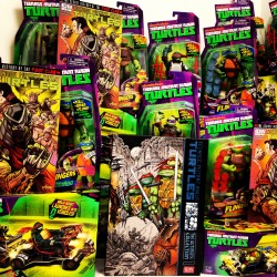 "LAST CHANCE to win the current TvF Prizes! - IDW TMNT: The Ultimate Collection, Vol. 1 (Red Label) - IDW TMNT: Secret History of the Foot Clan - Patrol Buggy vehicle set by Playmates Toys - Set of 4 TMNT ""Flingers"" figures by Playmates Toys  Go Now: http://www.turtlesvsfoot.com/"