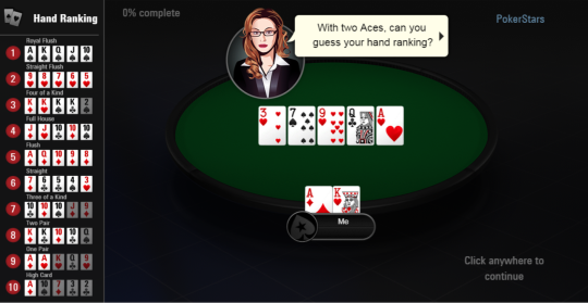 Image of PokerStars.com new player tutorial