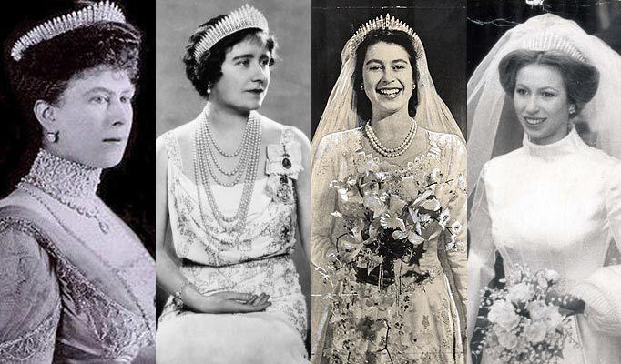 Royal Wedding Wednesdays Tiaras and Headpieces