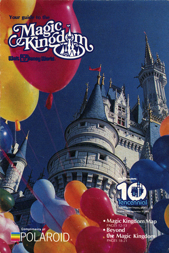 Walt Disney World Magic Kingdom Guide (1981-1982) by scad92 on Flickr.