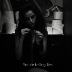 Stop telling lies to me, pleasee.