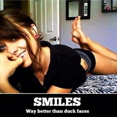 Just so you know!! #duckface