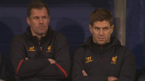 My expression bears a strong resemblance to Gerrard's right now. I am not impressed.