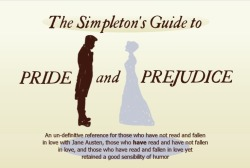The Simpleton's Guide to Pride and Prejudice
