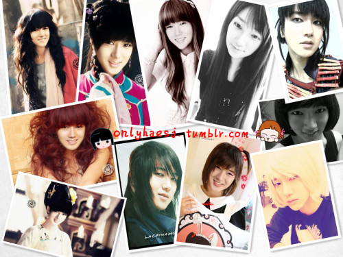 onlyhaesj:  Oh DAMN! Yesung's Girl so pretty >_<