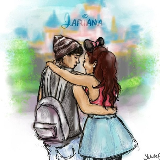 london-classy:  Jariana!! @jaibrooks95 @arianagrande #jariana #janoskians #jaibrooks #arianagrande #couple #perfect