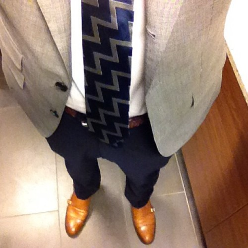 Suitsupply and double monk straps #wiwt #ootd #gpoy #menswear