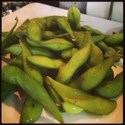 One of my favourite protein sources: edamame beans #yum