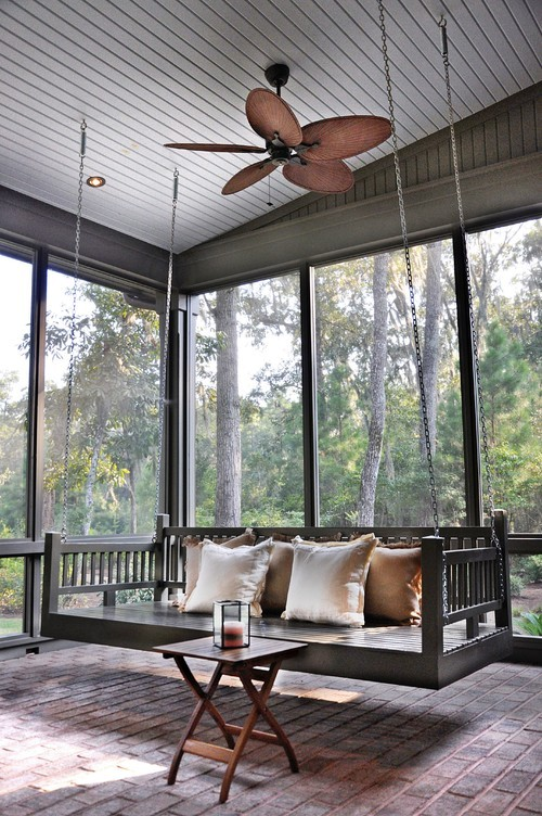 acoustic-garden:   Porch swing in Palmetto Bluff, SC. Hansen Architects…