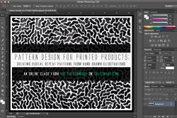 (via Pattern Design For Printed Products: Creating Digital Repeat Patterns From Hand-Drawn Illustrations - Skillshare)