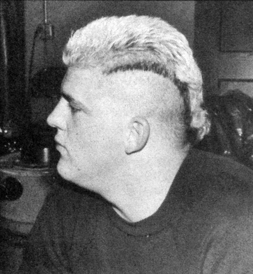 "Dustin Rhodes - 1988 We wonder exactly what kind of statement the future ""American Nightmare"" was trying to say, back in the 1980s. His Goldust character looked somewhat normal in comparison."