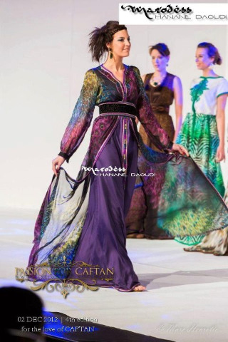 Fall in love today, kaftan by Hanane Daoudi, Marodess Couture