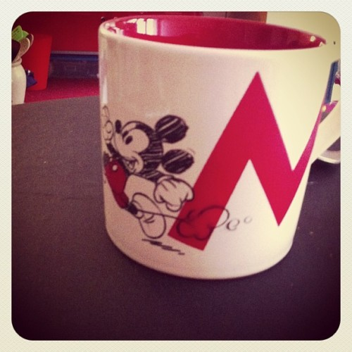 Petit dej #disneylandparis ma new tasse
