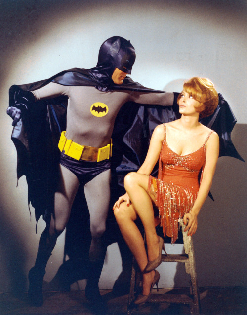 vintageruminance:  Jill St.John and Adam West for Batman (US TV, 1966)