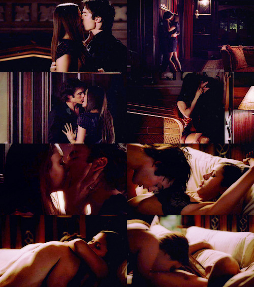 THE SHIPS MEME | three favourite love scenes - 1/3: damon&elena (TVD)