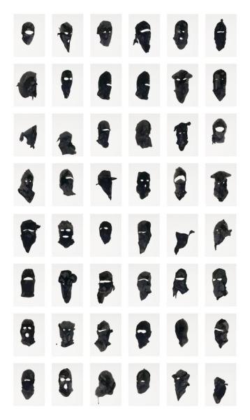 after-art:  Untitled (48 Portraits), 2006 Adam Helms